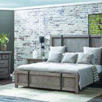 Дизайн спальни в винтажном стиле