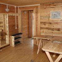 Мебель из дерева для предбанника своими руками
