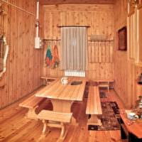 Красивая комната для отдыха после водных процедур