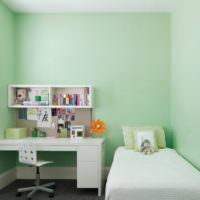 Детская комната в мятных оттенках