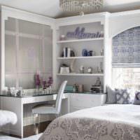 Уютная комната для девочки старше 12 лет