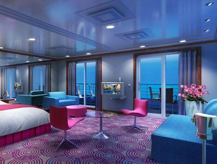 Дизайн комнаты в космическом стиле