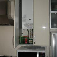 Кухонный модуль для газового котла