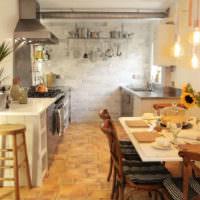 Живые растения в декорировании кухонного пространства