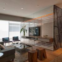 Использование стекла в современном интерьере