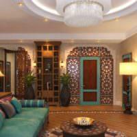 Марокканский стиль в оформлении гостиной