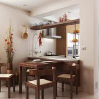 Дизайн обеденной зоны в стиле минимализма