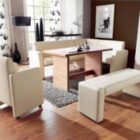 Обеденная мебель в современном стиле