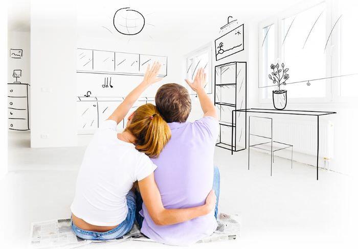Эскиз будущей планировки комнаты своими руками
