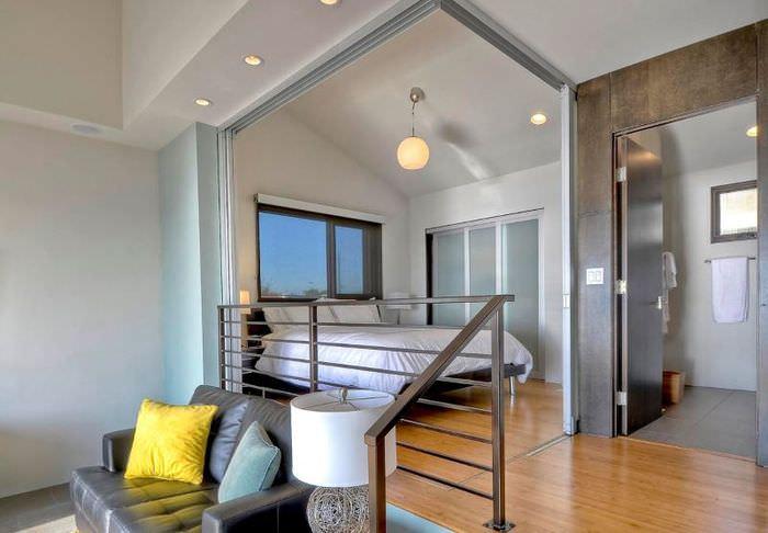 Обустройство зоны для сна в однокомнатной квартире
