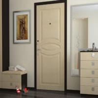 Кремовый цвет в интерьере комнаты