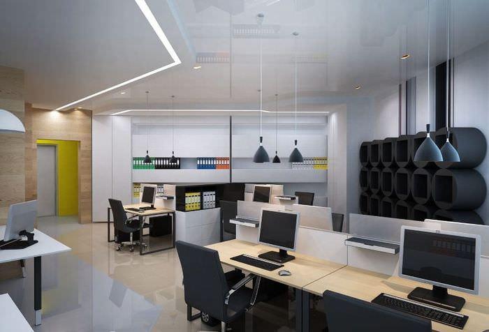 Пример организации офиса в американском стиле