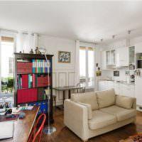 Обустройство помещения в квартире студии