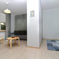 Интерьер однокомнатной квартиры в стиле минимализма