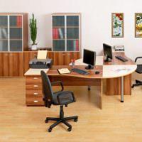 Интерьер офиса в классическом стиле