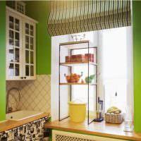Кухонный подоконник в роли рабочей поверхности
