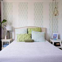 Светлая спальня в пастельных тонах