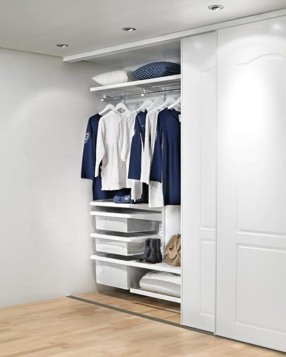 фото шкафов купе в коридоре внутри каракуля уходит модной