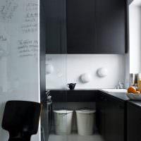 Дизайн небольшой кухни в минималистическом стиле