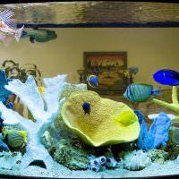 Имитация морских кораллов из искусственных материалов