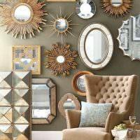 Зеркала различной формы и размеров
