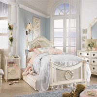 Оформление комнаты для девочки в классическом стиле