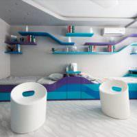 Дизайн комнаты для двух мальчиков в современном стиле