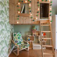 сказочный домик из дерева для мальчика дошкольного возраста