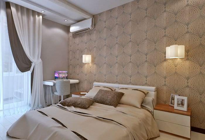 Дизайн спальни для молодой семьи