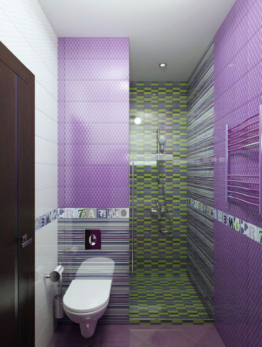 Дизайн ванной для девочки подростка