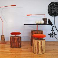 Мебель из пеньков своими руками
