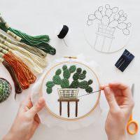 Изготовление декоративной вышивки своими руками