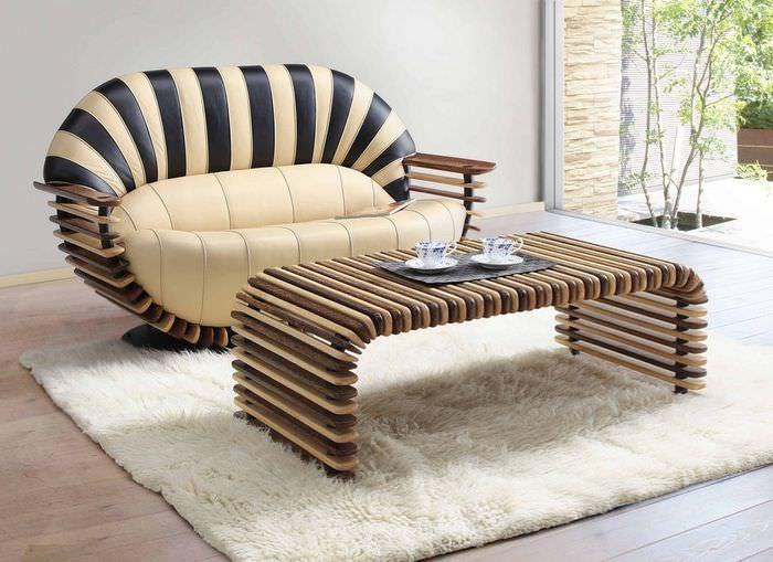 Дизайнерские диван для украшения домашнего интерьера