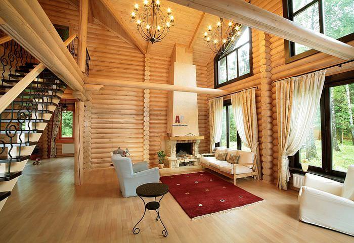 новые лоты дизайн красивых деревянных домов внутри фото семейства