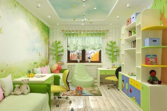 Интерьер детской комнаты: правила обустройства и полезные советы