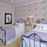 Дизайн спальни для девочек школьного возраста