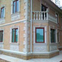 Наружняя отделка стен в классическом стиле