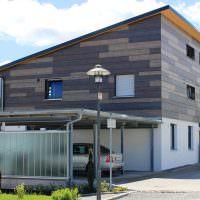 Облицовка фасада металлическими панелями