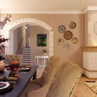 Кухонные стулья с обивкой из мешковины