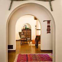 Декорирование помещения в этническом стиле