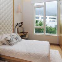 Мягкая панель за изголовьем кровати