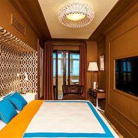 Оформление спальни в коричневом цвете