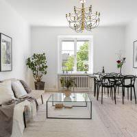 Гостиная в духе скандинавского минимализма