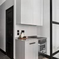Мини-кухня в квартире холостяка