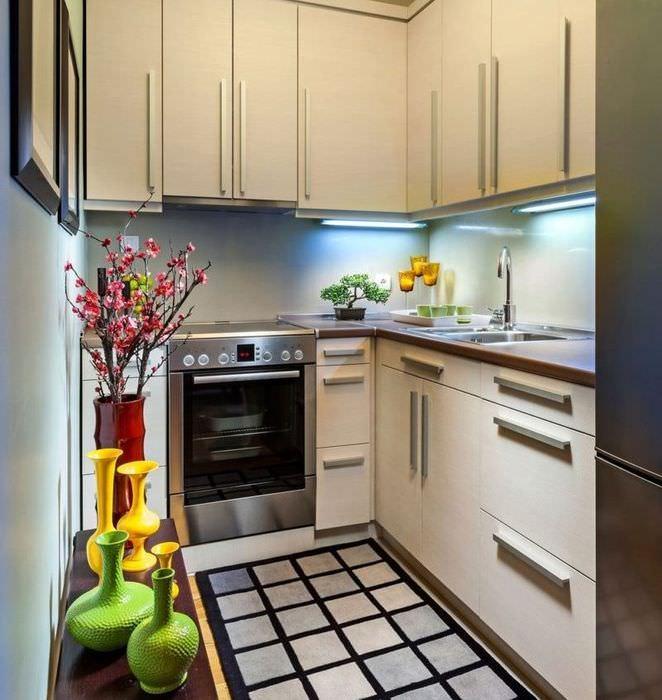 Светодиодная подсветка рабочих поверхностей кухни