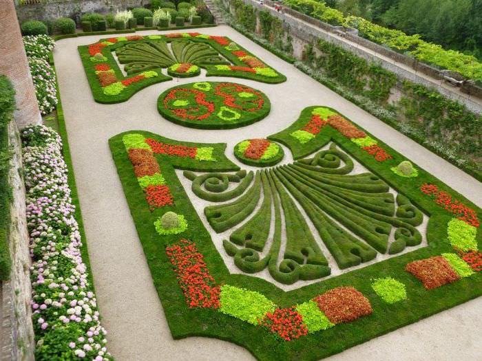 Арабеска в ландшафтном дизайне загородного участка