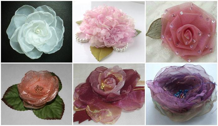 Варианты изготовления искусственных цветов своими руками