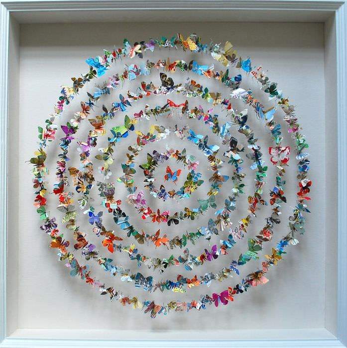 Декоративные бабочки для украшения домашнего интерьера