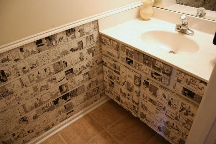Декорирование интерьера ванной своими руками