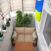 Деревянный диванчик с мягкими подушками